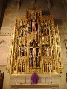 Cathedral side altar