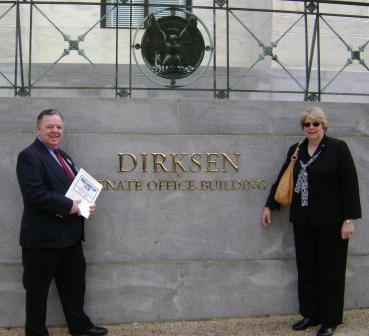 Pam and Jim visit Washington DC