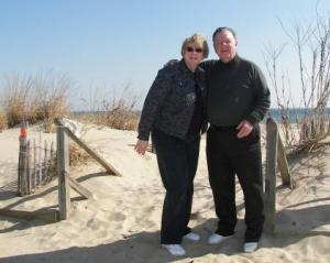 Rohoboth Beach in 70 degree March weather