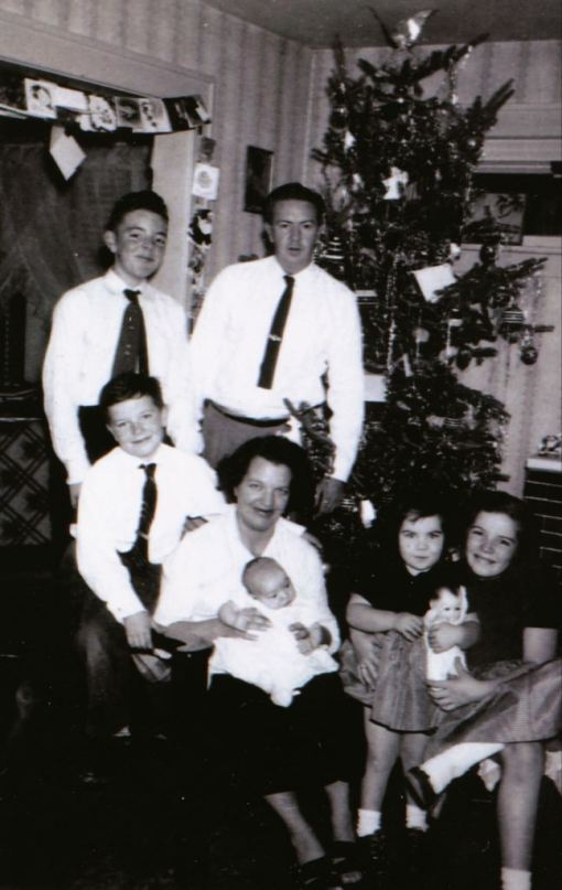 The Gleason Family, Christmas of 1955