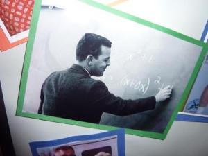 """I didn't know grandpa was a math teacher!"""